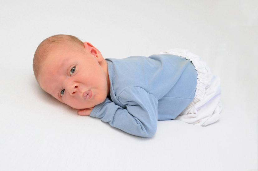 Baby Massage Michaela Pichler, Johannes